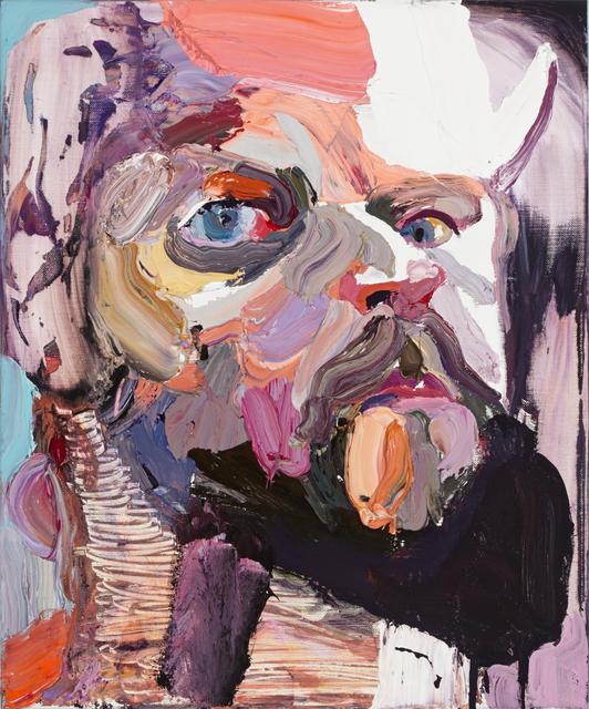 , 'Self Portrait with mirror No. 2 ,' 2015, Tolarno Galleries