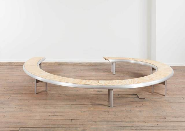 , 'Rolled Extrusion Bench (REB),' 2014, Volume Gallery