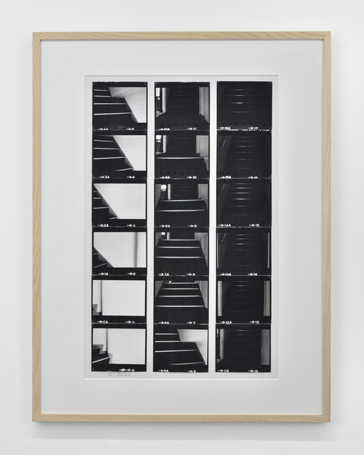 , 'Amount of light (toward 3rd floor),' 1976, Galerie Christophe Gaillard