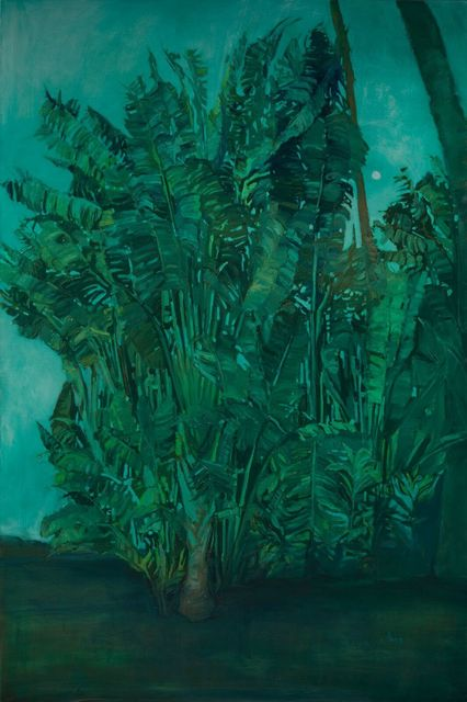 , 'Nocturne in Green, Kihei, HI,' 2018, The Guild of Boston Artists