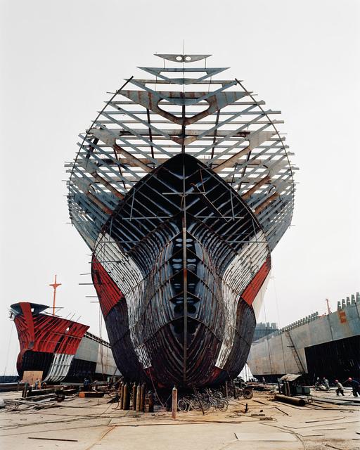 , 'Shipyard #11, Qili Port, Zhejiang Province, China,' 2005, Robert Koch Gallery