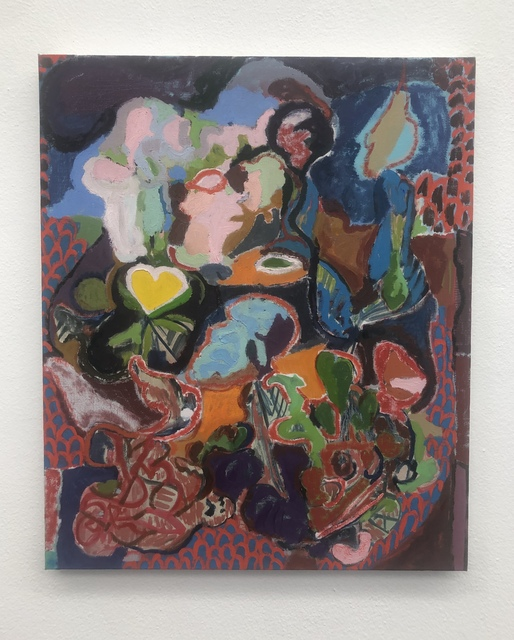 Jackie Gendel, 'Untitled', 2017, Painting, Oil on canvas, Federico Luger (FL GALLERY)
