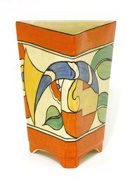 A Clarice Cliff vase