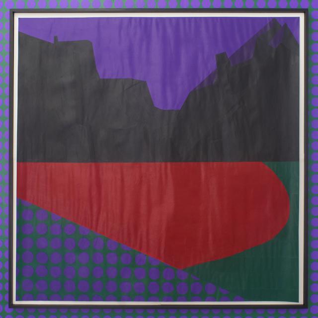 , 'Violet Dreamscape No. 1,' 2017, Rubber Factory