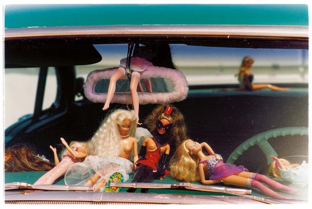 , 'Oldsmobile & Sinful Barbie's,' 2001, Bleach Box