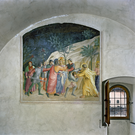 Robert Polidori, 'The Capture of Christ by Fra Angelico, Cell 33, Museum of San Marco Convent, Florence, Italy', 2010, Flowers