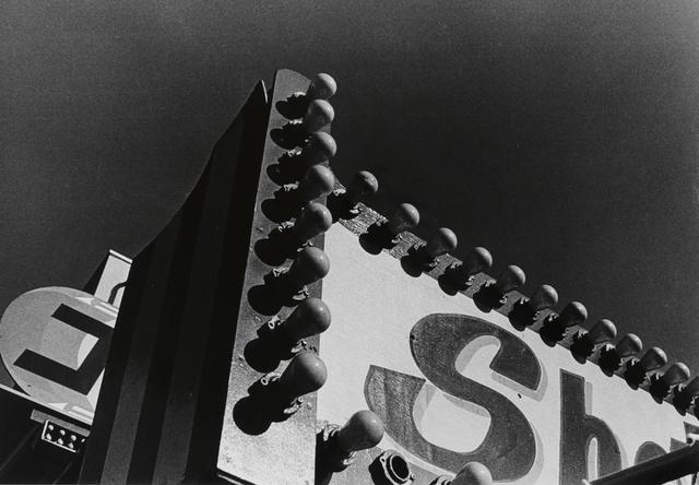 , 'Electric Light Board, Taito-ku, Tokyo,' 1990, SAGE Paris