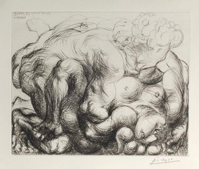 Pablo Picasso, 'Le Viol, V', 1933, Odon Wagner Gallery