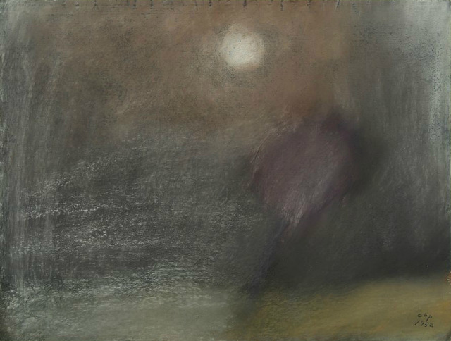 , 'Landscape by moonlight,' 1952, HUNDERTMARKartFAIR