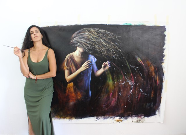Lali Garcia Almeyda, 'Looking for the magic', 2021, Painting, Oil on canvas, 33 Contemporary