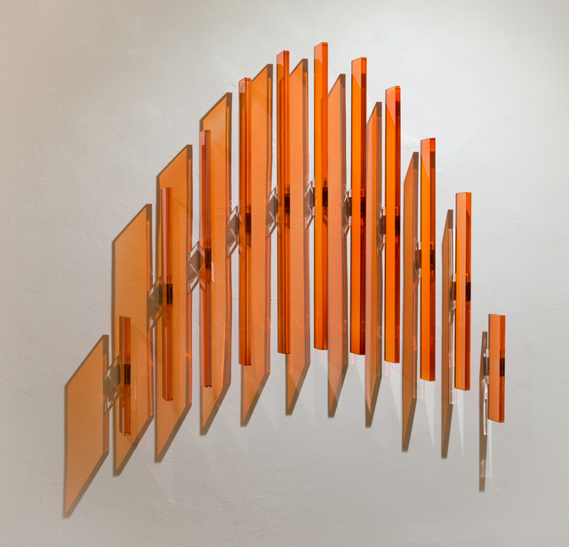 , 'Orange Stripes,' 2017, Galerie Tanit