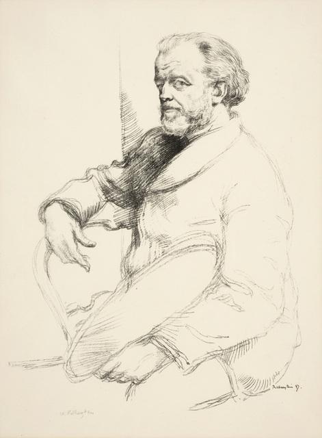 William Rothenstein, 'Portrait of Henri Fantin-Latour', 1898, Print, Lithograph, Ben Uri Gallery and Museum