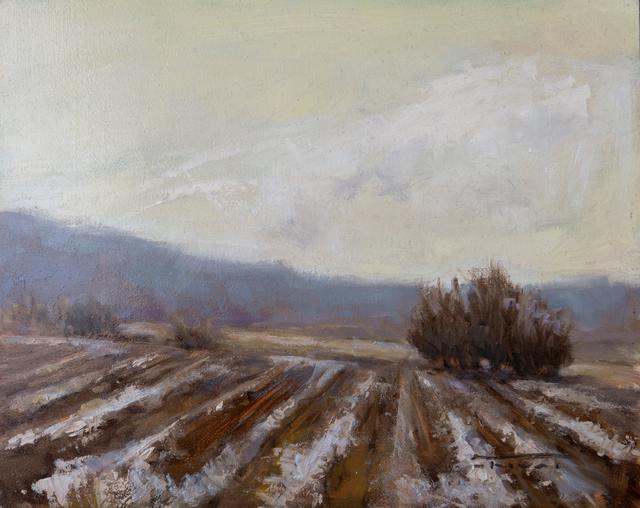 , 'Winter Furrows,' 2017, Abend Gallery