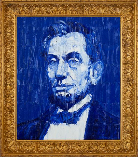 Hunt Slonem, 'President Lincoln', 2018, DTR Modern Galleries