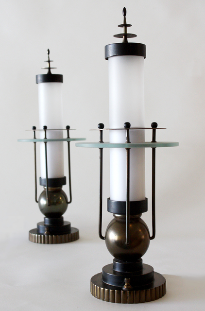 , 'Pair of Lamps,' ca. 1930, Mark McDonald