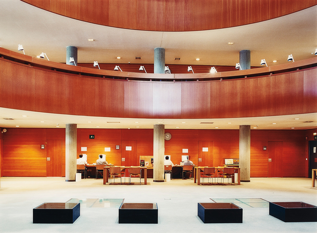 Candida Höfer, 'Biblioteca UNED Madrid III', 2000, Phillips
