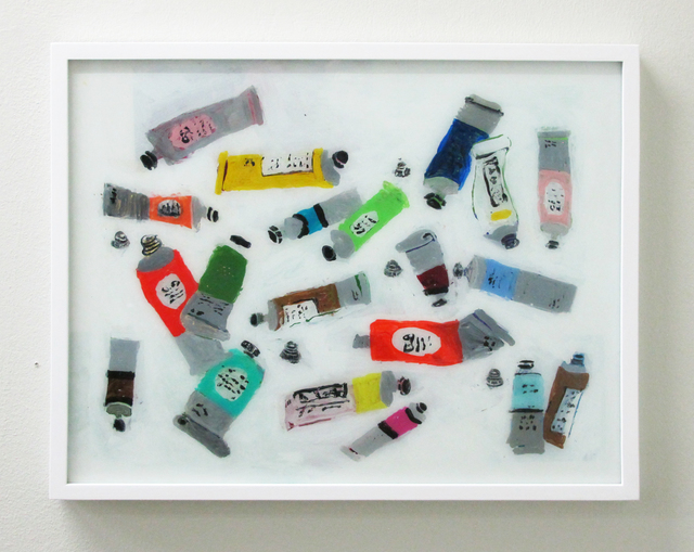 , 'Paint Tubes,' 2016, V1 Gallery