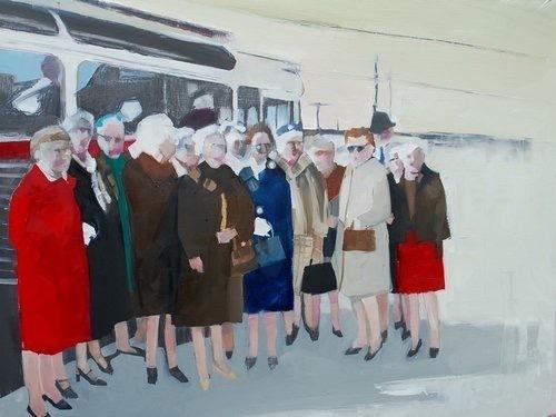 , 'Women's March,' 2016, Susan Eley Fine Art