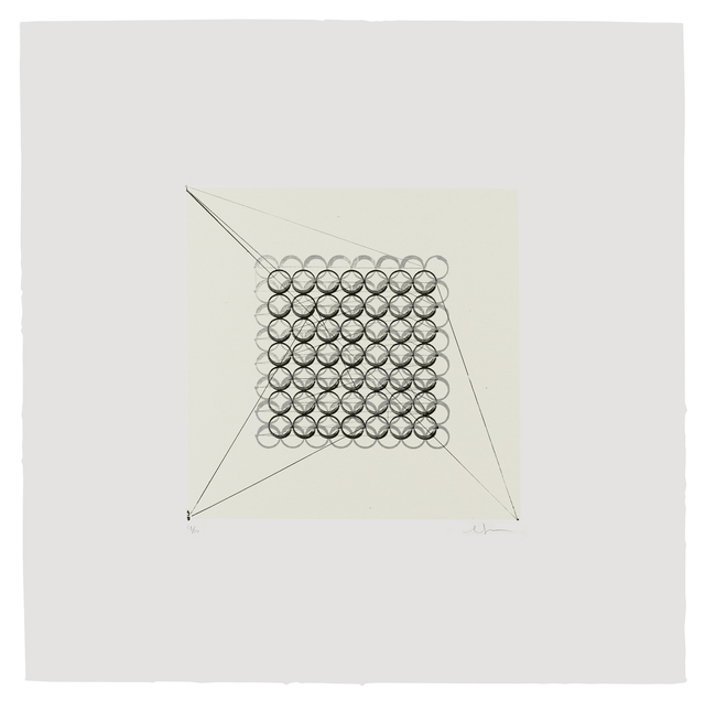 , 'Retrocausality 3,' 2017, Tamarind Institute
