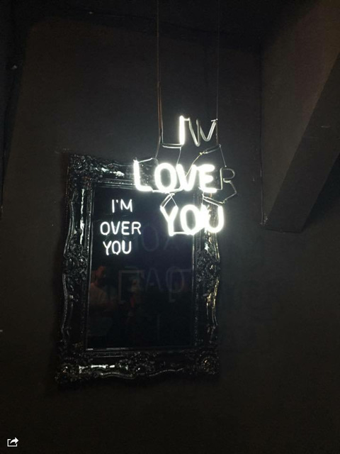 , 'I Love you / I'm over you,' 2015, Maddox Arts
