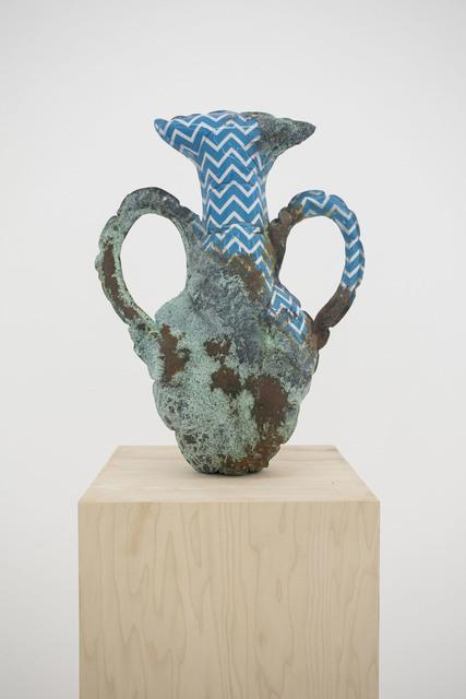 , 'Nolan Amphora with Chevron (Aegean Sea),' 2017, The Hole