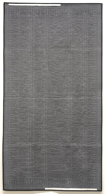 , 'Generative Textile Drawing (lg1),' 2018, Joseph Nease Gallery