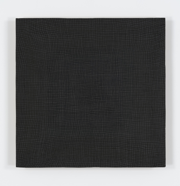 , 'Glory Hole (black on black) vibgyor,' 2012, Bortolami