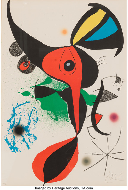 Joan Miró, 'Oda a Joan Miró', 1973, Heritage Auctions