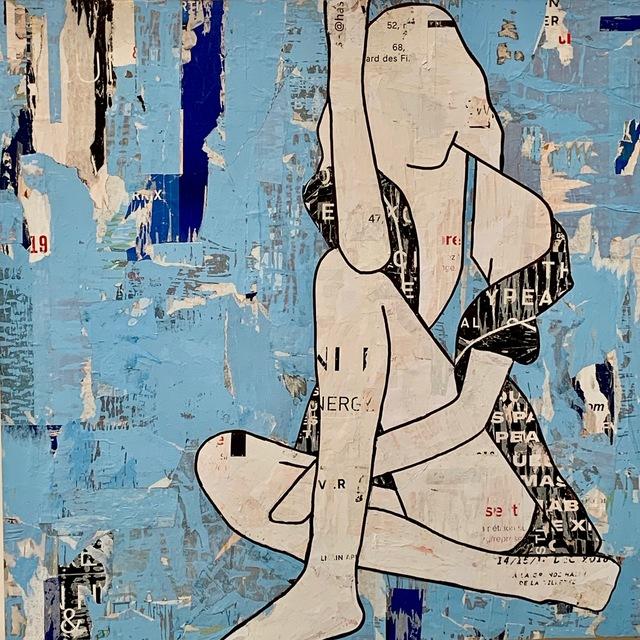 Jane Maxwell, 'Seated Girl Blue',  , JoAnne Artman Gallery