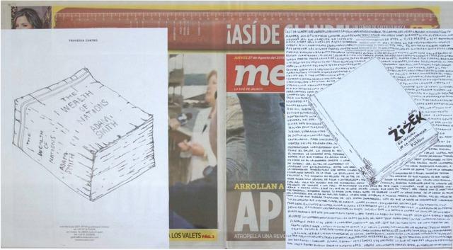 , 'Political Drawing (Metro: Guadalajara, Mexico, Jueves 27 Agosto 2015),' 2015, Travesia Cuatro