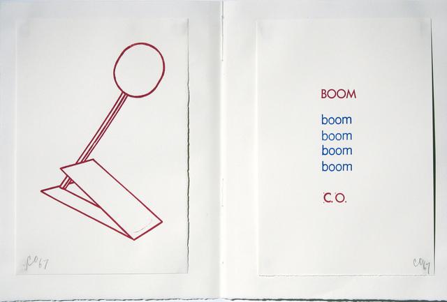 Claes Oldenburg, 'Boom, Stamped Indelibly', 1967, Woodward Gallery