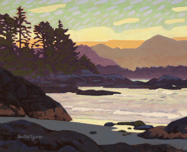 Clayton Anderson, 'West Coast Sunset ', Madrona Gallery