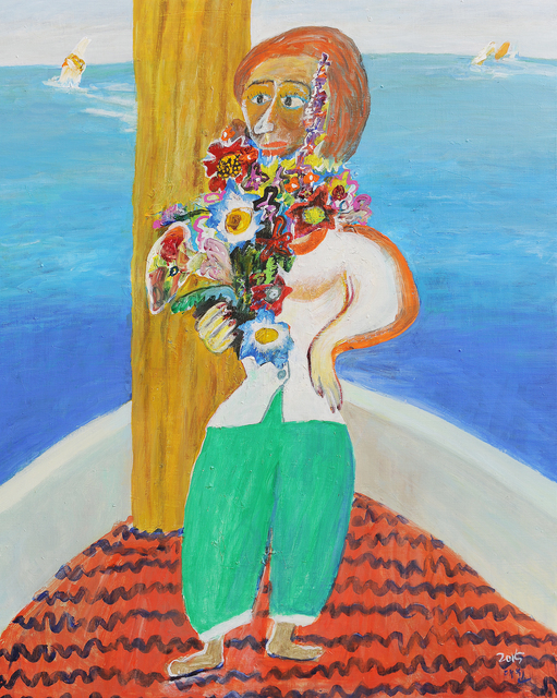 , 'Woman and Marine [바다와 여인],' 2015, Picasso Gallery