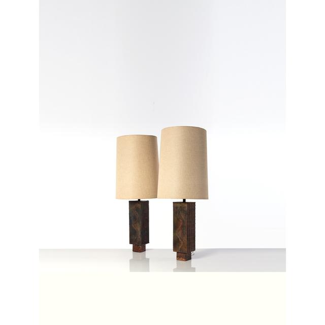 George Nakashima, 'Pair Of Table Lamps', 1980, PIASA