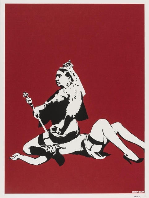 Banksy, 'Queen Vic', 2003, Forum Auctions