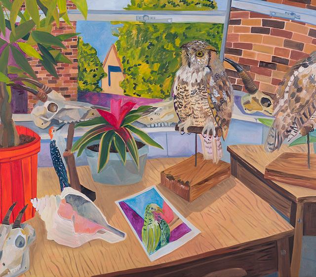 , 'Owl Taxidermy,' 2016, parts gallery