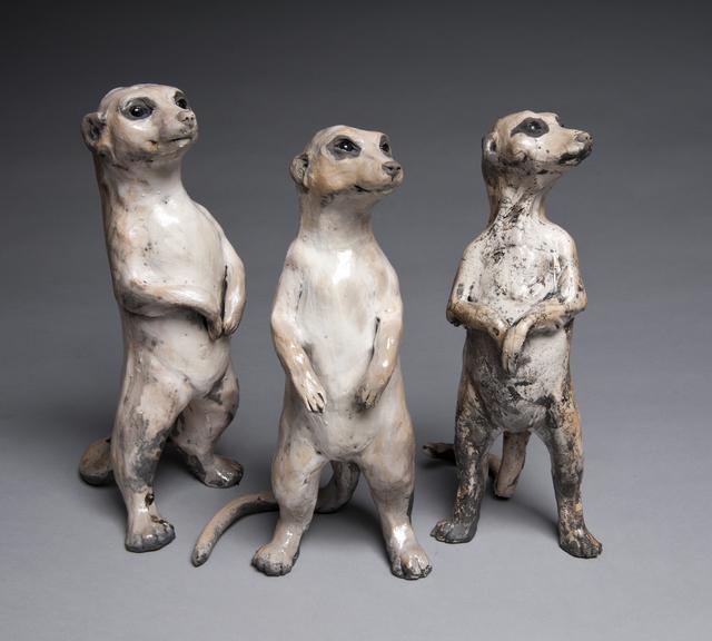, 'Meerkats,' 2016, Lacoste Gallery
