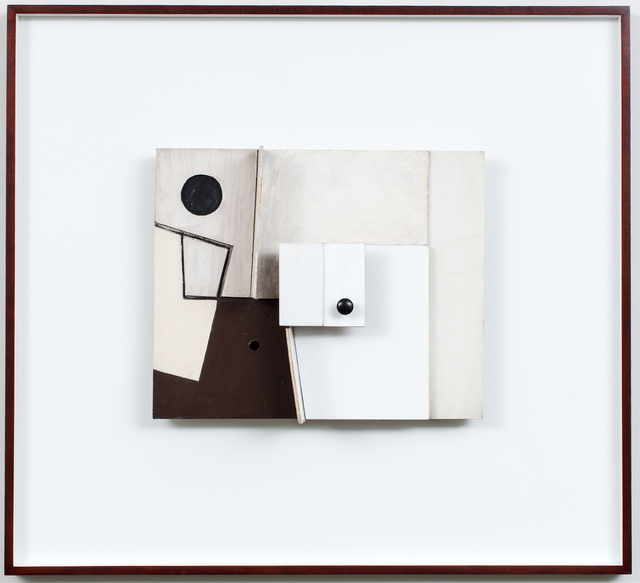 , 'Relief Painting in White, Black and Maroon,' 1952, Marlborough London