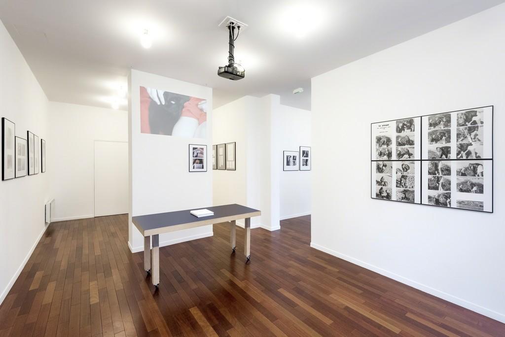 "Exhibition view of ""Cinématographies"" by Paul Armand Gette at mfc-michèle didier. Photo credit: Charles Duprat"