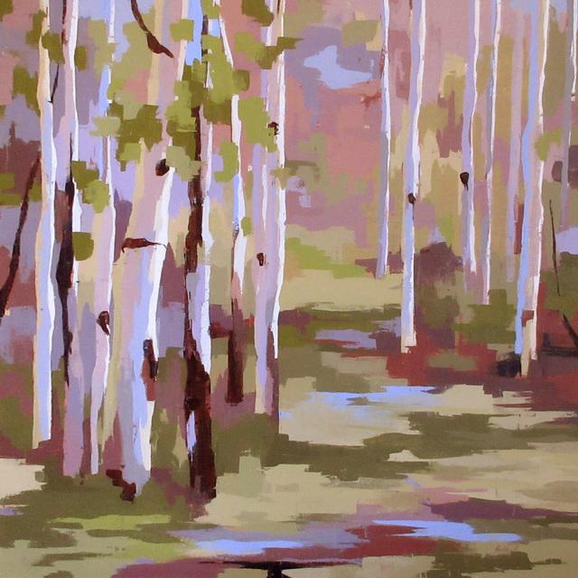 Hadley Rampton, 'Lush', 2016, Painting, Oil, Abend Gallery