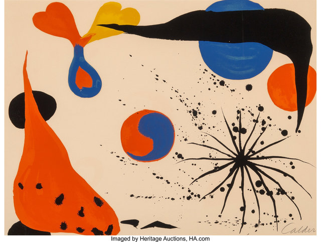 Alexander Calder, 'Flies in the Spider Web', 1975, Heritage Auctions