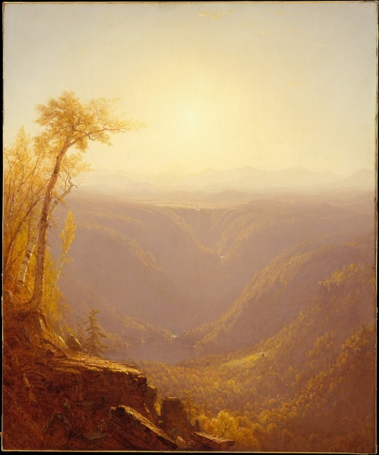 Sanford Robinson Gifford, 'A Gorge in the Mountains (Kauterskill Clove)', 1862, The Metropolitan Museum of Art