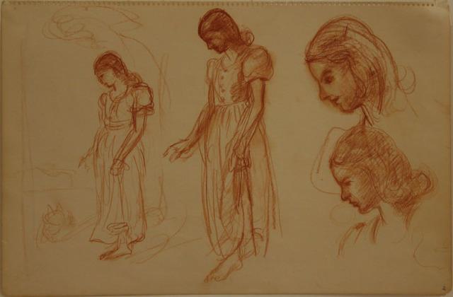 , 'Study of Women,' , Kiechel Fine Art