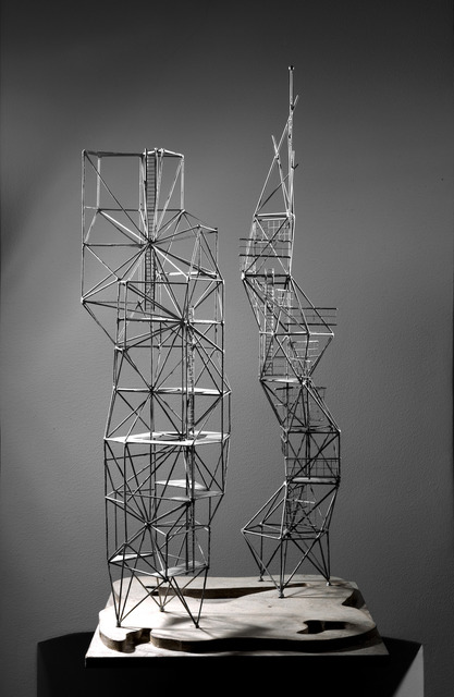 , 'Two Towers,' 1959, Borzo Gallery
