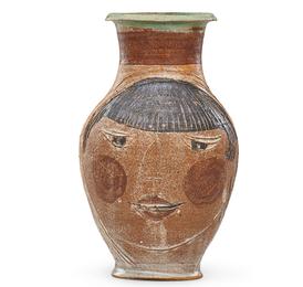 Vase with portrait, Guerneville, CA