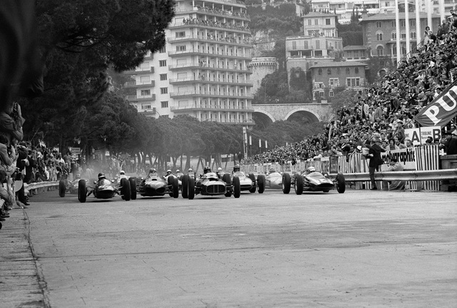 , 'Grand Prix of Monaco Start,' 1962, Robert Klein Gallery