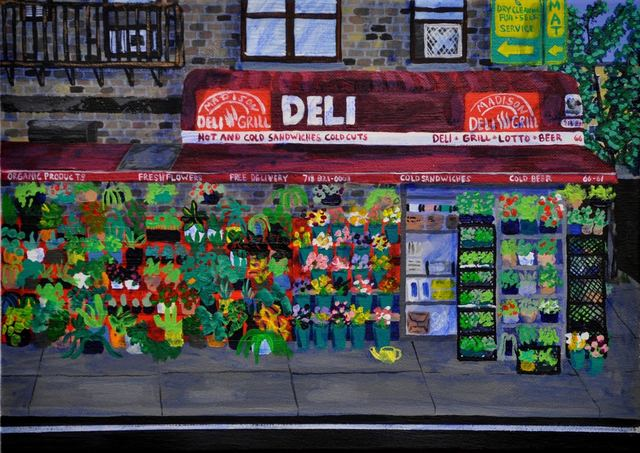 , 'Madison Deli and Grill,' 2017, Field Projects