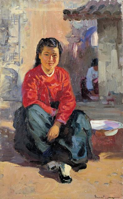 , 'Girl in a Sunny Spot,' 1953, Hakgojae Gallery