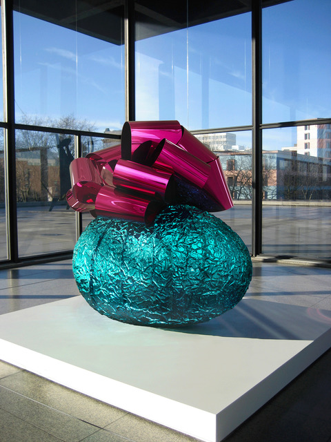 , 'Baroque Egg with Bow (Turquoise/Magenta),' 1994-2008, Gagosian