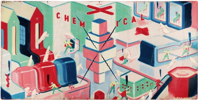 Ryan Heshka, 'Chemical X Factory', 2013, Coleccion SOLO
